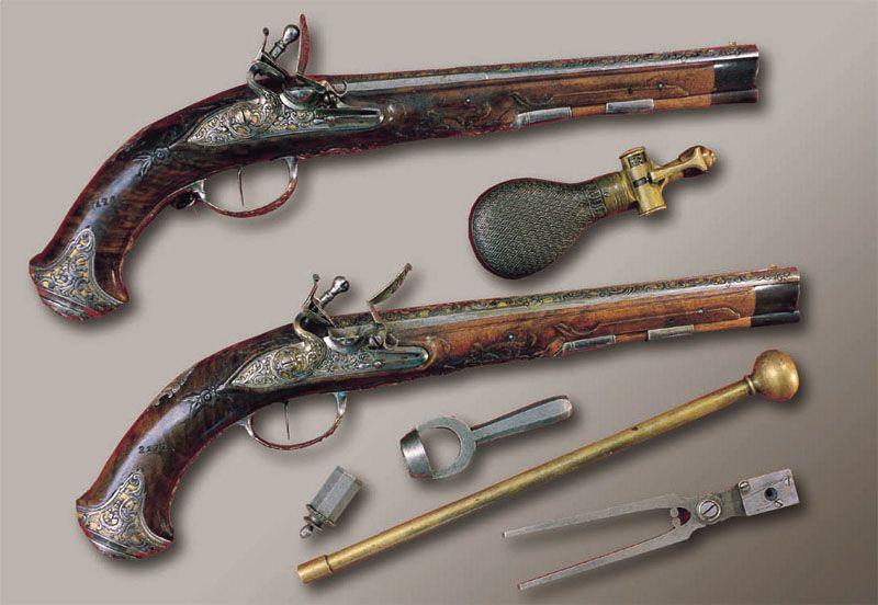 Пистолеты Тульского оружейного завода