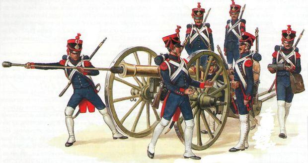 Вооружение русской армии 1812 года