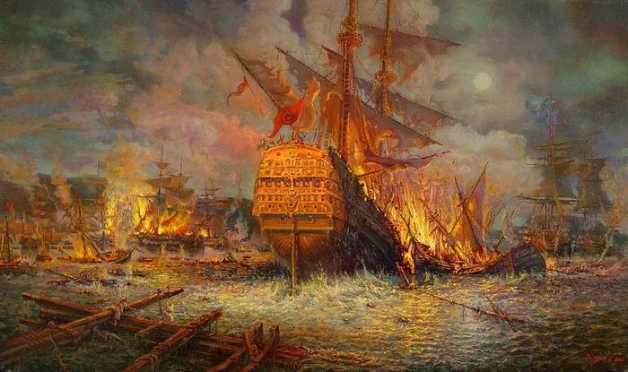 Чесменское сражение
