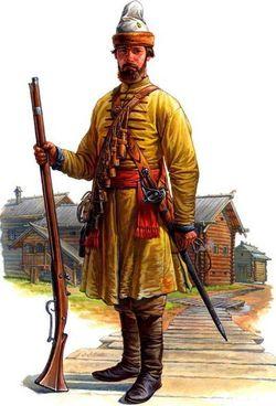 Солдат 1-го Московского выборного полка