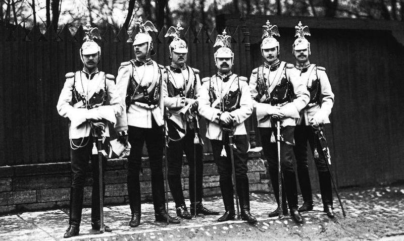 Группа офицеров лейб-гвардии Кавалергардского полка