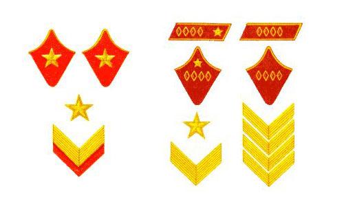 Маршал Советского Союза. Командарм 1-го ранга. Командарм 2-го ранга.