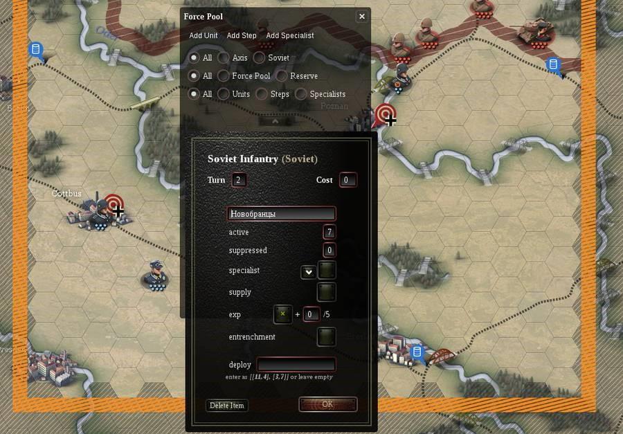 Unity of Command Editor 8