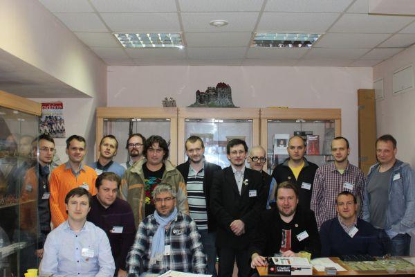 Фотография с ProWargames Con.2013, организованного в Москве магазином и клубом ProWargames