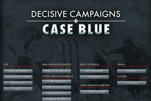 Decisive Campaigns Case Blue 004