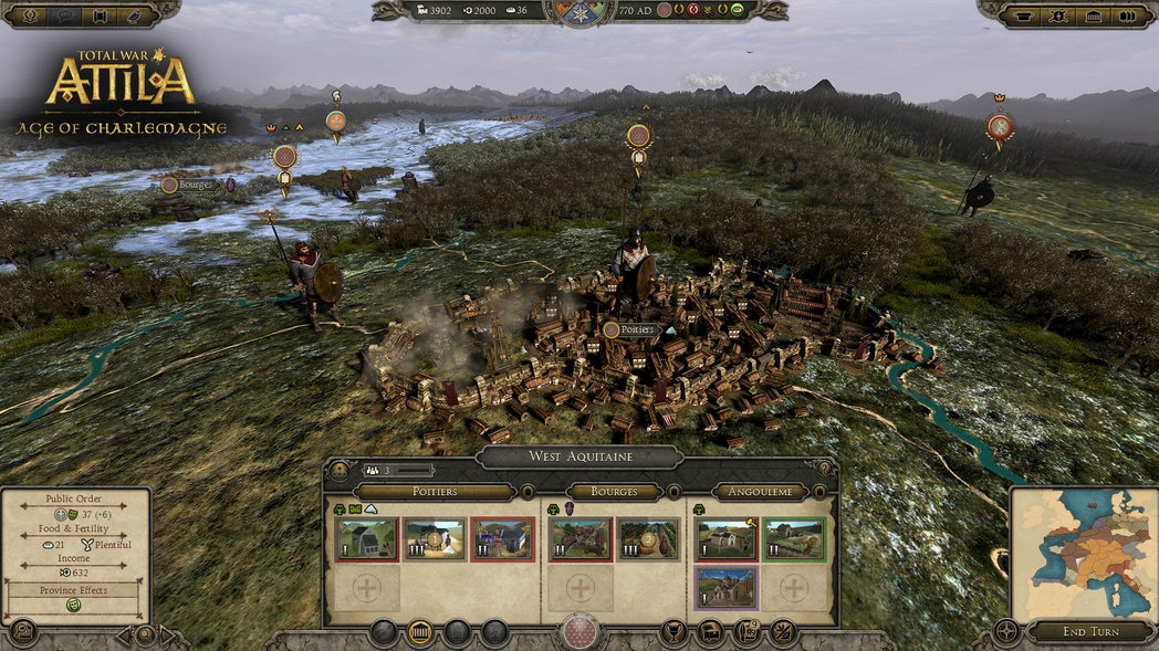 Total War: ATTILA – Age of Charlemagne
