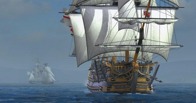 Naval Action в раннем доступе в Стиме