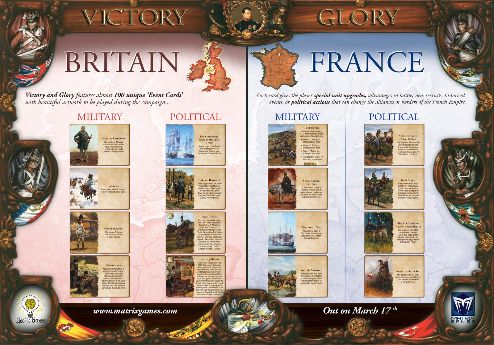 Victory and Glory: Napoleon - в продаже