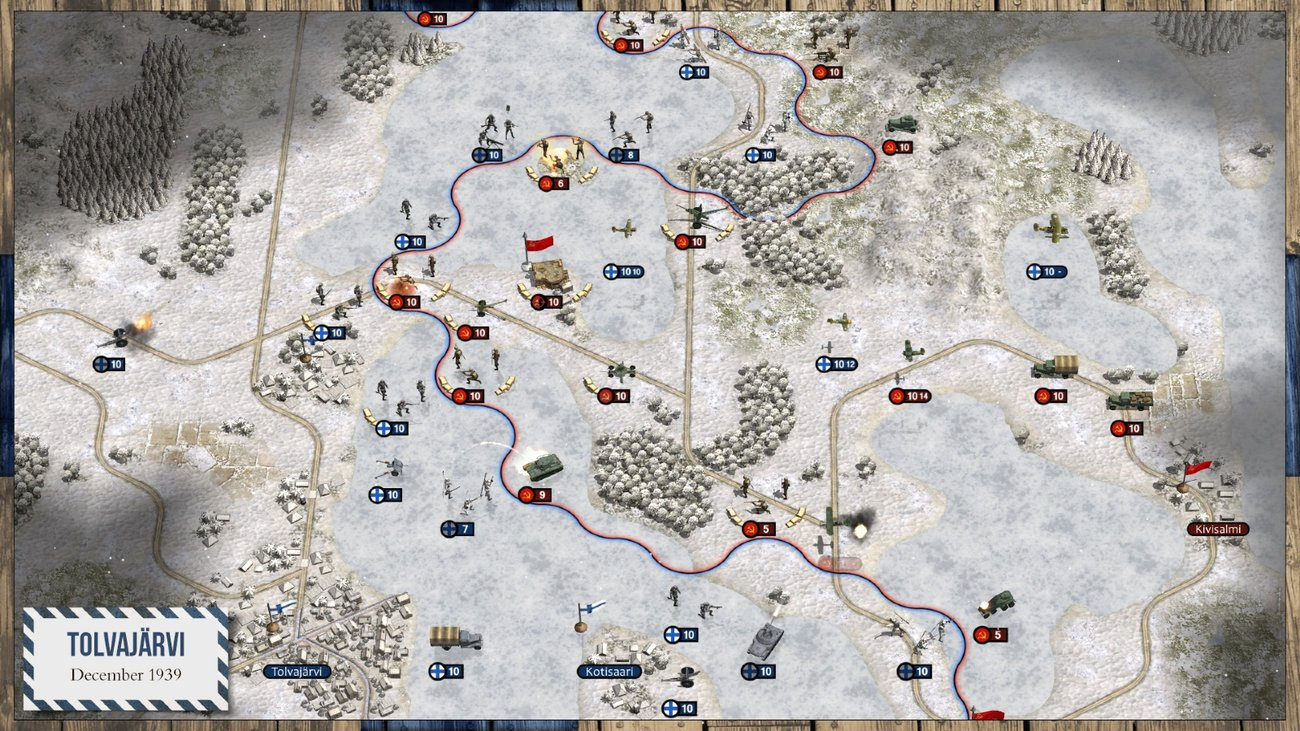 Релиз - Order of Battle: Winter War