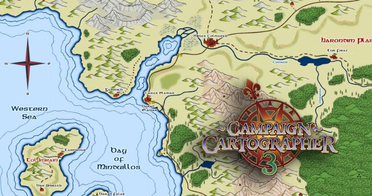 Рисуем карты с Campaign Cartographer 3 (+)