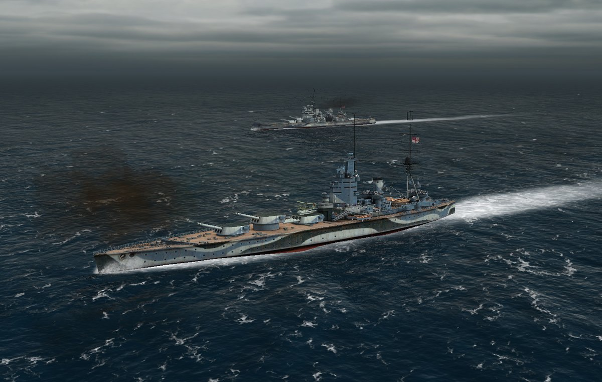 Atlantic Fleet - британские линкоры. Еще целые.