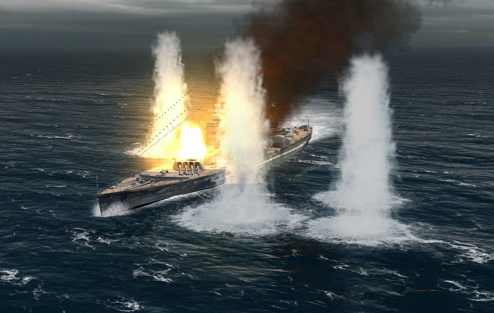 AtlanticFleet - Король Георг - последняя агония