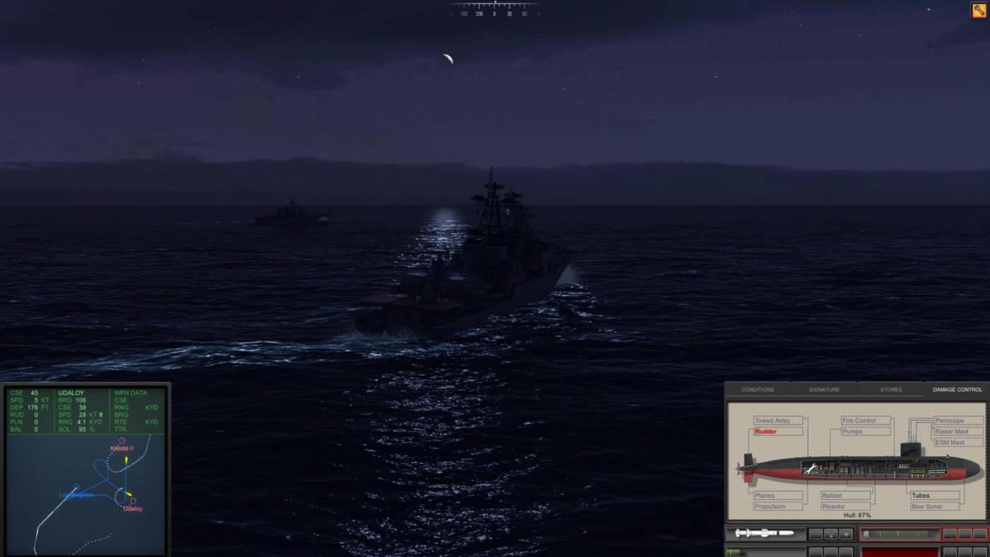 Обзор симулятора подлодки Cold Waters