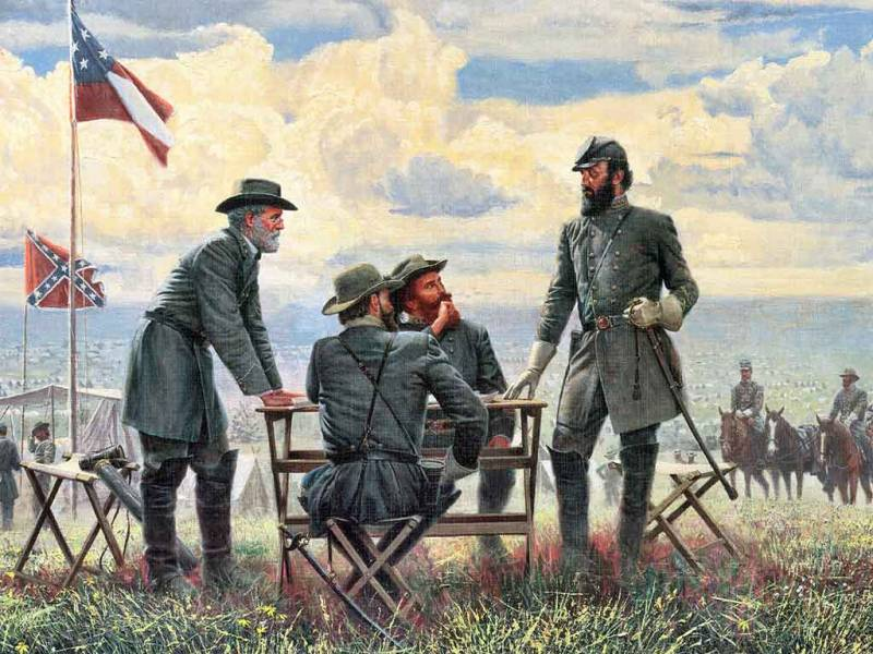 the life of stonewall jackson a confederate commander in the civil war Lieutenant general thomas j stonewall jackson was a major figure in the civil war, second in command to confederate general robert e lee, when he was shot by friendly fire during the battle of chancellorsvilleon may 2, 1863.