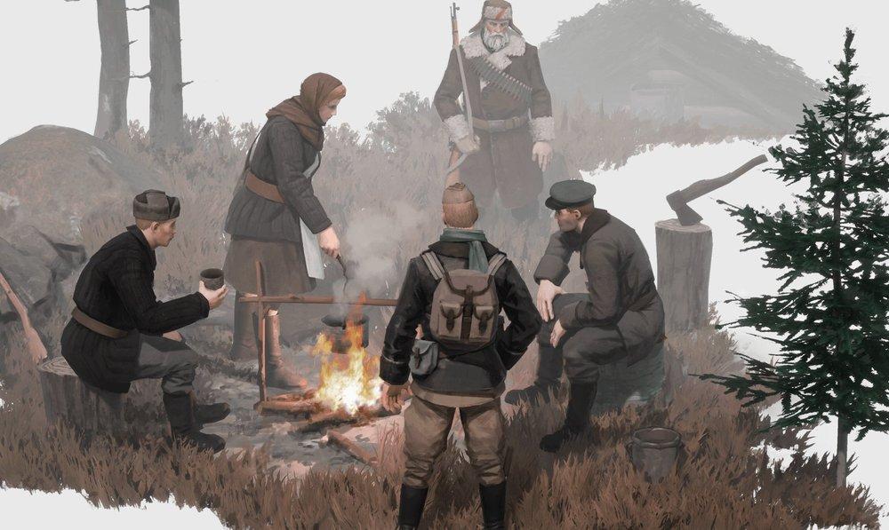 Партизаны - новая игра по мотивам Второй мировой