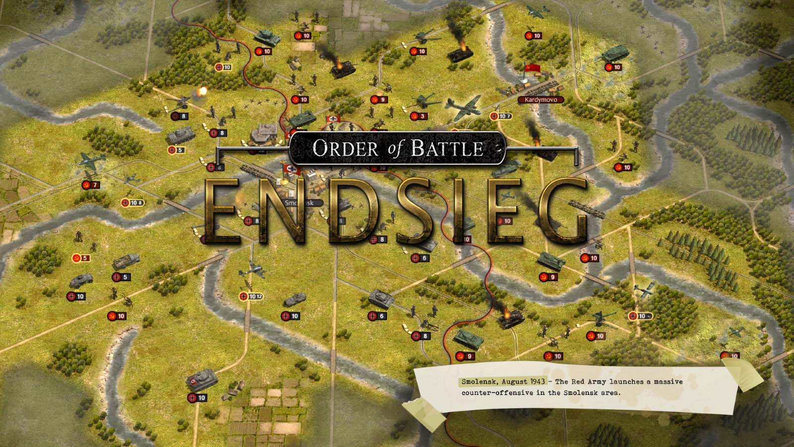 В разработке Order of Battle: Endsieg
