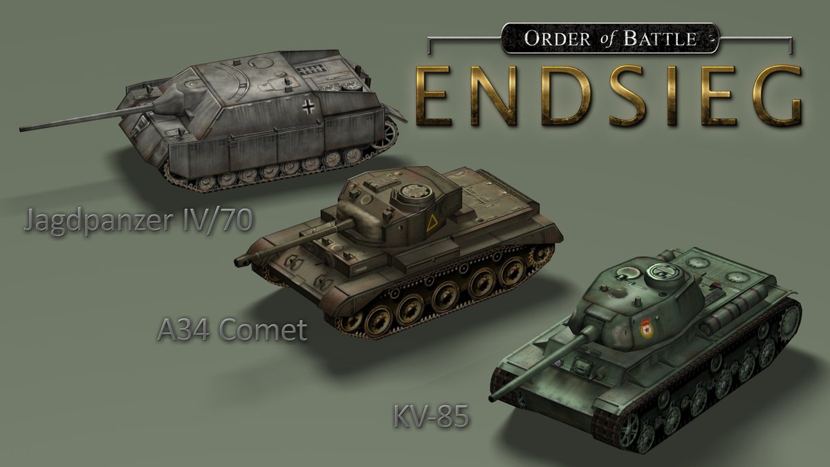 Endsieg Units Preview