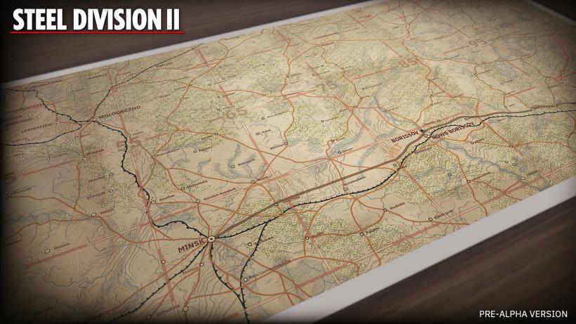 STEEL DIVISION 2 - предварительный обзор стратегического уровня
