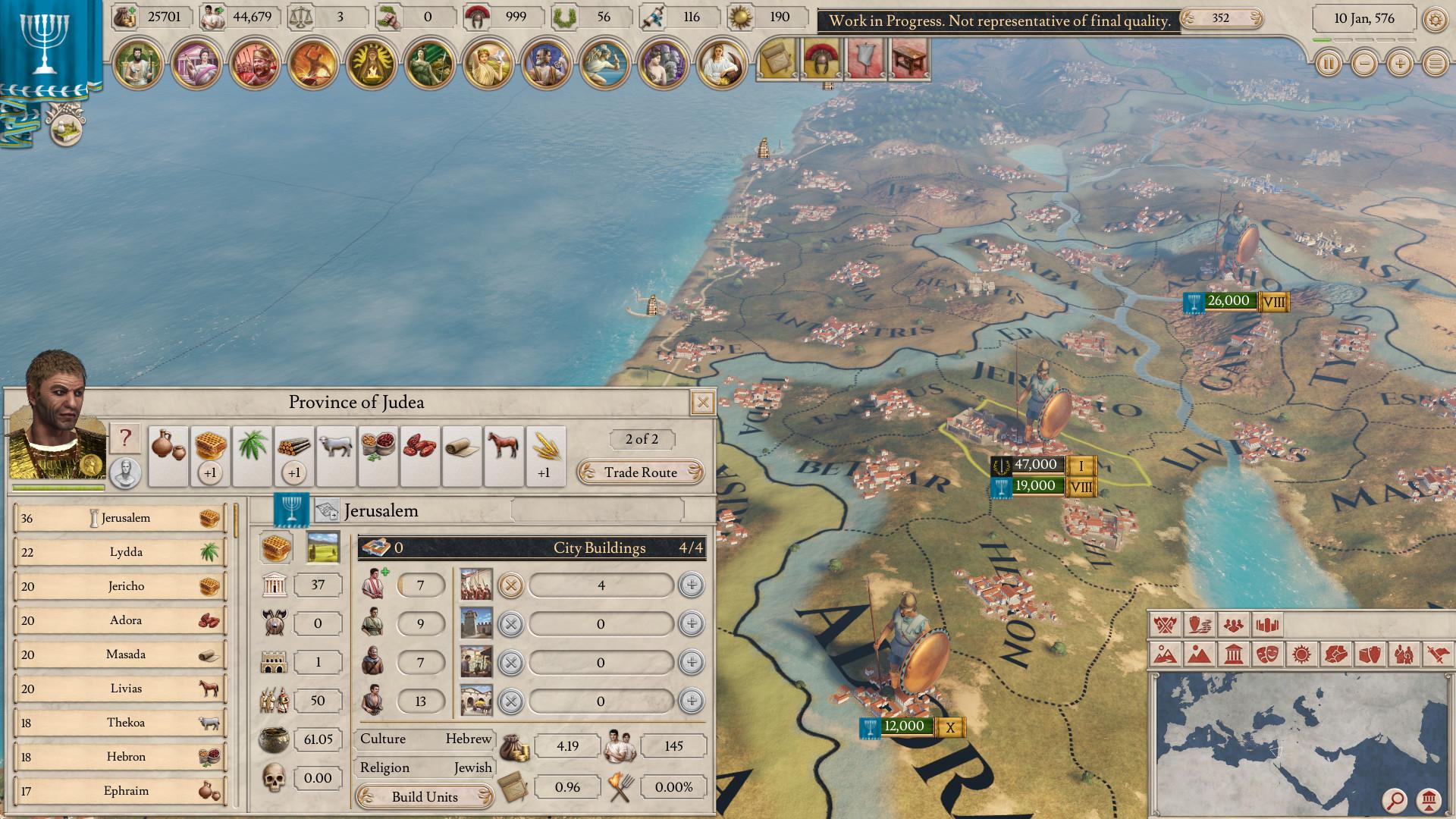 Imperator: Rome как искусство античных войн