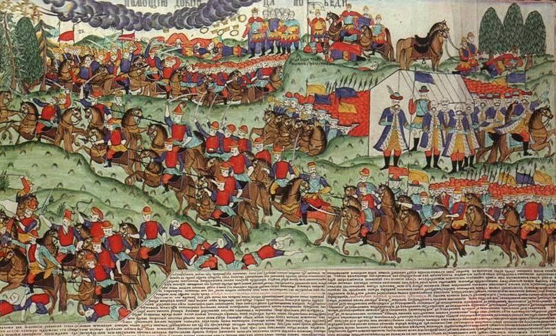 Куликовская битва - славная победа!
