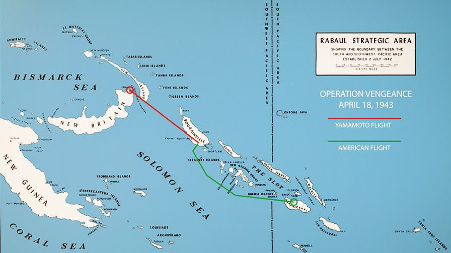 Operation Vengeance map