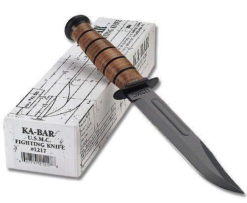 The KA-BAR Combat Knife