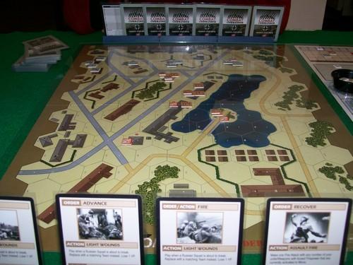Combat Commander - одна из самых популярных серий варгеймов, где используется карточная механика