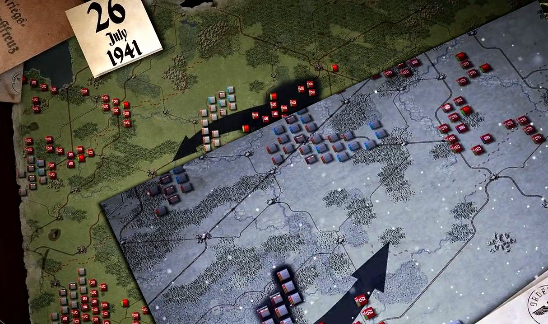 Decisive Campaigns Barbarossa - обзор игры
