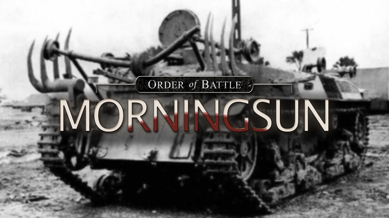 Order of Battle - Morning Sun - обзор дополнения