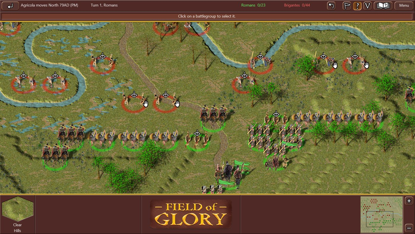 Field Of Glory old