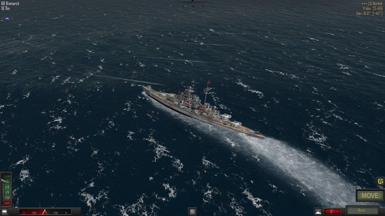 AtlanticFleet - торпедная атака британского крейсера