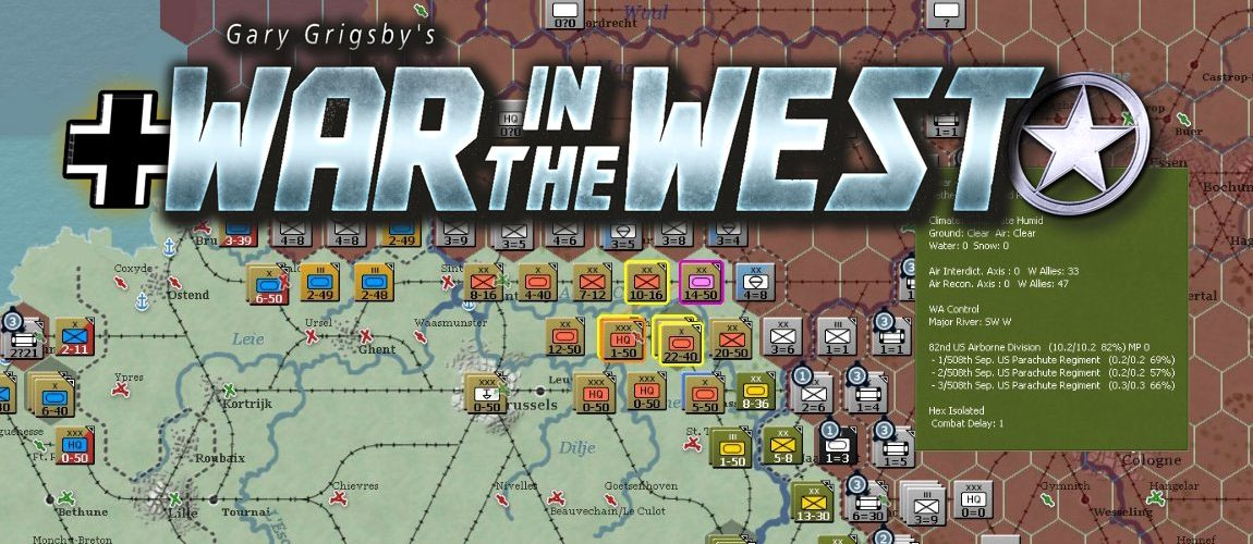 Gary Grigsby's War in the West обзор с патчем 1.01.65 (2017 Steam Release)