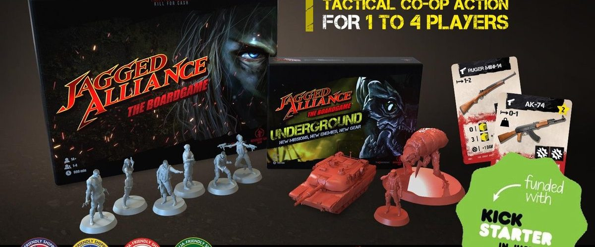 Jagged Alliance: The Boardgame