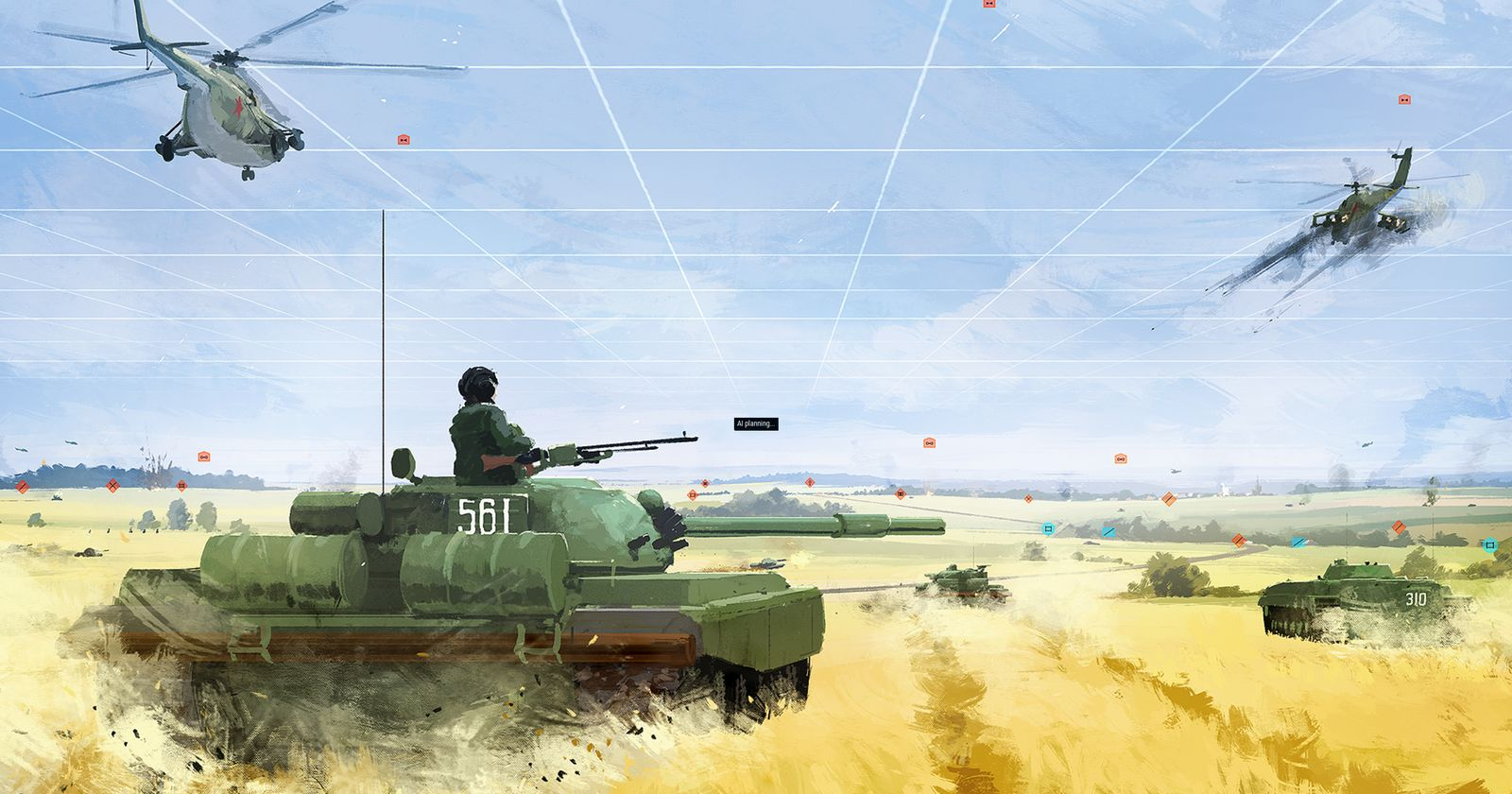 Обзор Armored Brigade