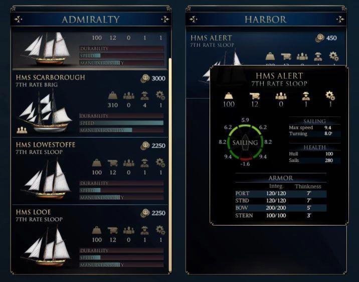 Naval Gameplay